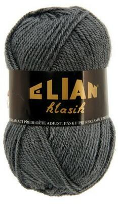 Pletací příze Elian Klasik 131 - šedá