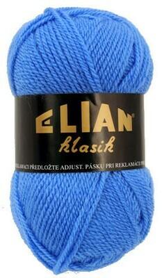 Pletací příze Elian Klasik 1256 - modrá