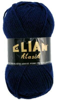 Pletací příze Elian Klasik 148 - modrá