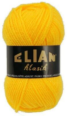 Pletací příze Elian Klasik 184 - žlutá