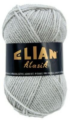 Pletací příze Elian Klasik 130 - šedá