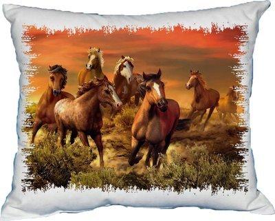 Polštářek Koně