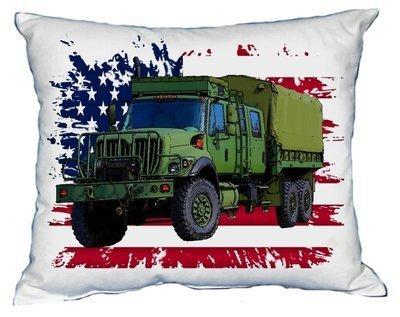 Polštářek Vojenské nákladní auto