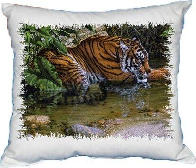 Polštářek Tygr v jungli