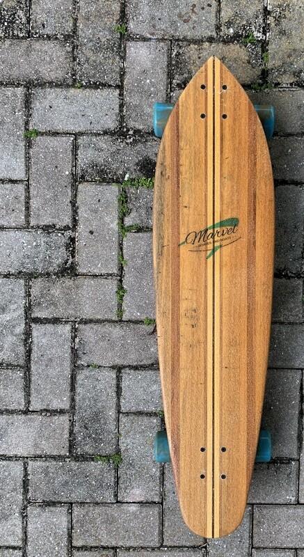Solid hardwood Cruiser, 36 1/2