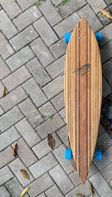 "Pintail Longboard, Mixed Hardwoods, 40 3/4"" x 9 1/4"""