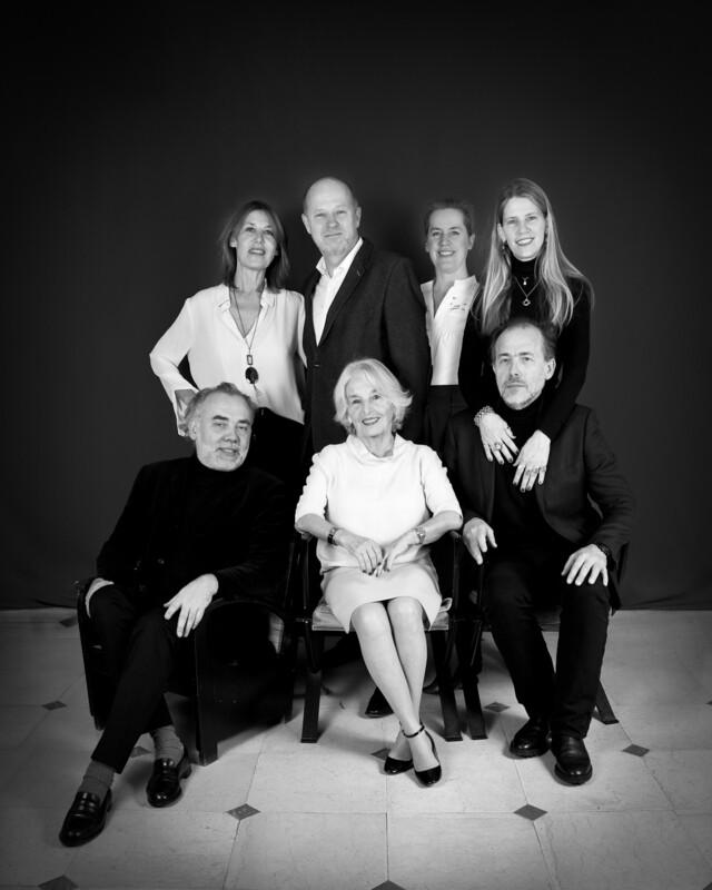 1 Séance de portrait de famille en studio à votre domicile 4h