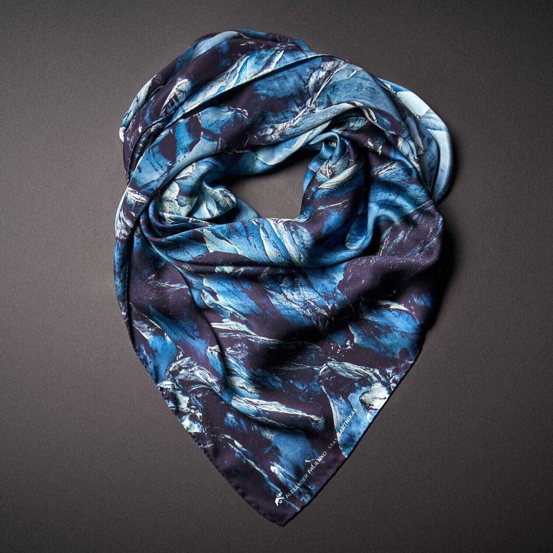 Шелковый платок «Потенциал. Возможности»