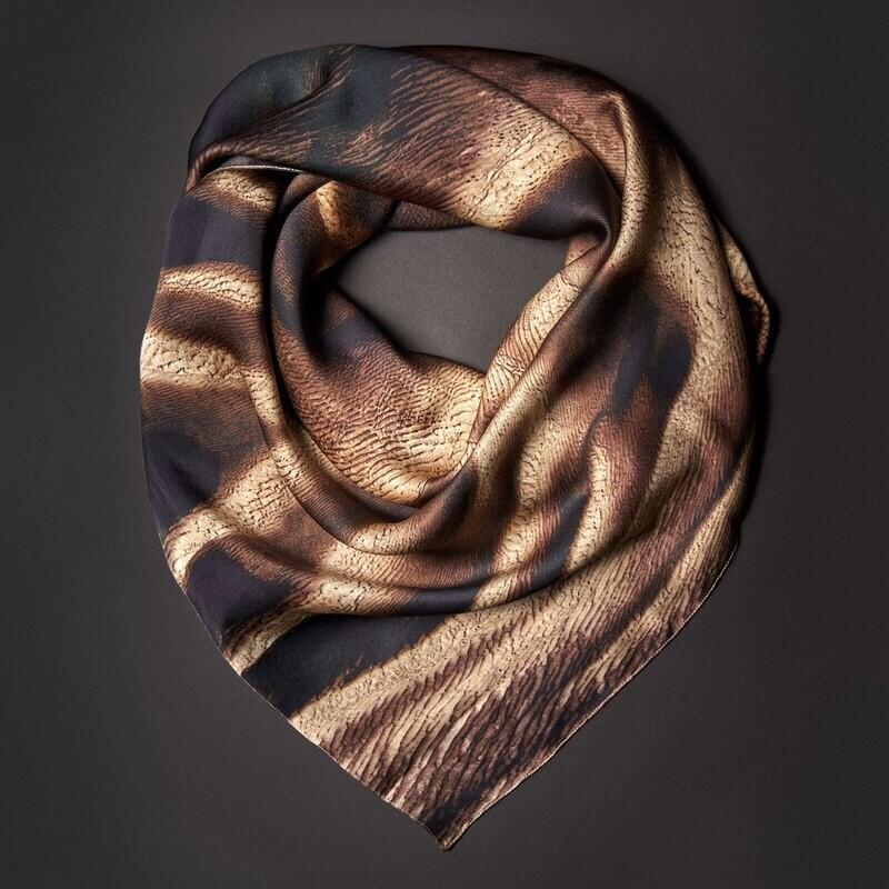 Шелковый платок «Многовариантность»