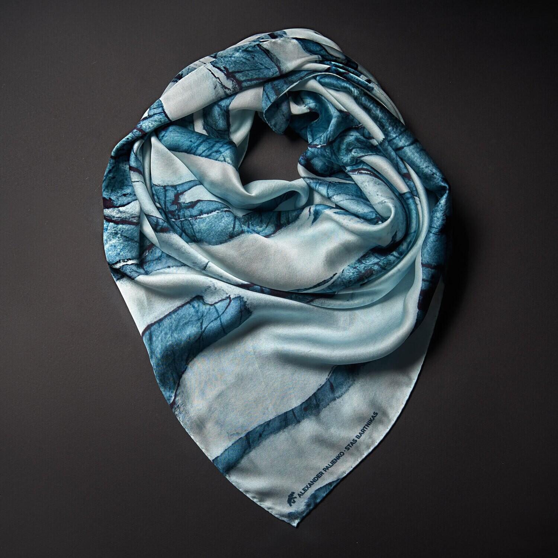 Шелковый платок «Любовь. Истома»