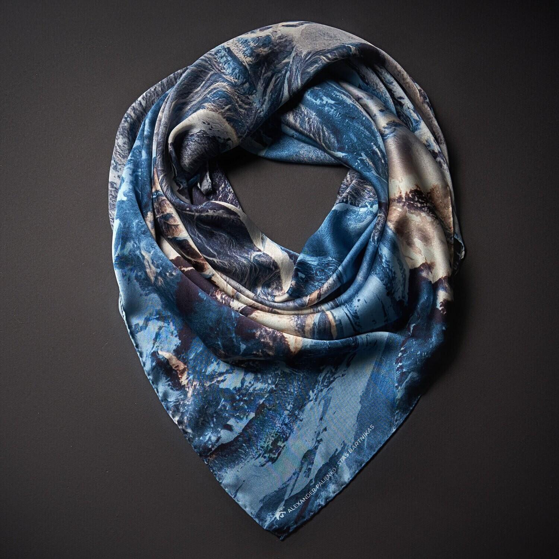 Шелковый платок «Приятие»