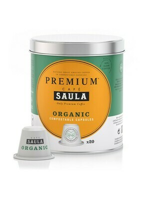 Kapsułki organic coffee kompostowalne Nespresso®