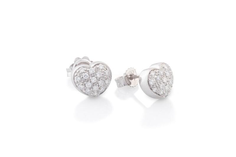 Heart Diamonds Earrings