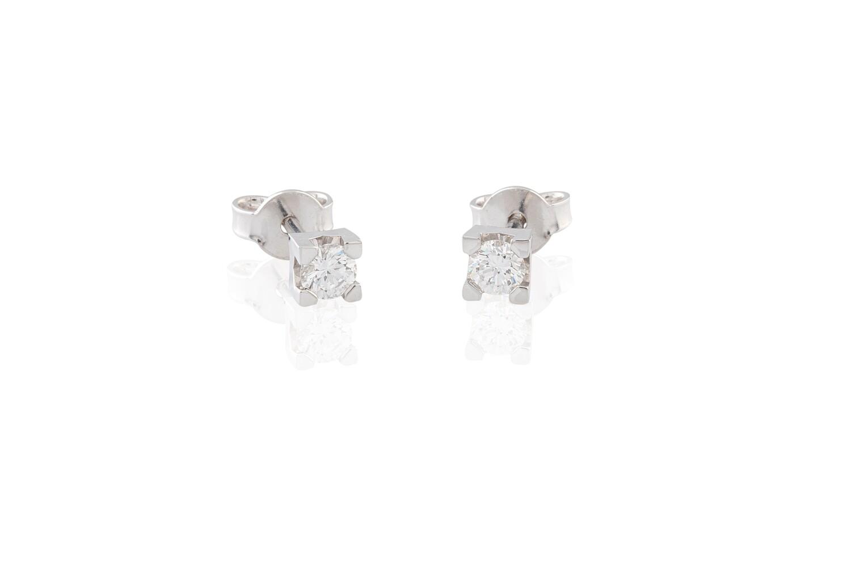 0,19 ct Diamonds Earrings