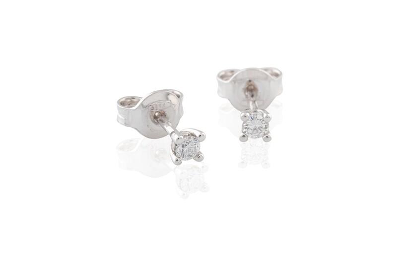 0,08 ct Diamonds Earrings