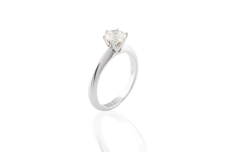 Diamond 0,90 ct Ring