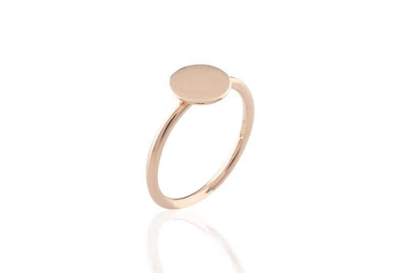 Flat Circle Ring