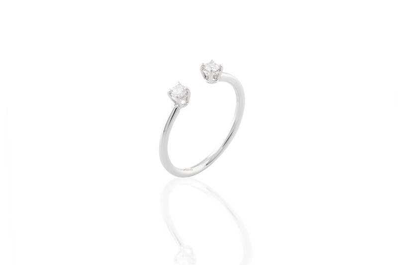 Two Diamonds Ring