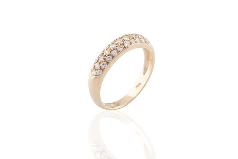 Pavè Diamonds Ring