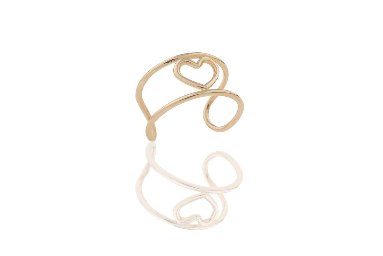Heart Binary Ring