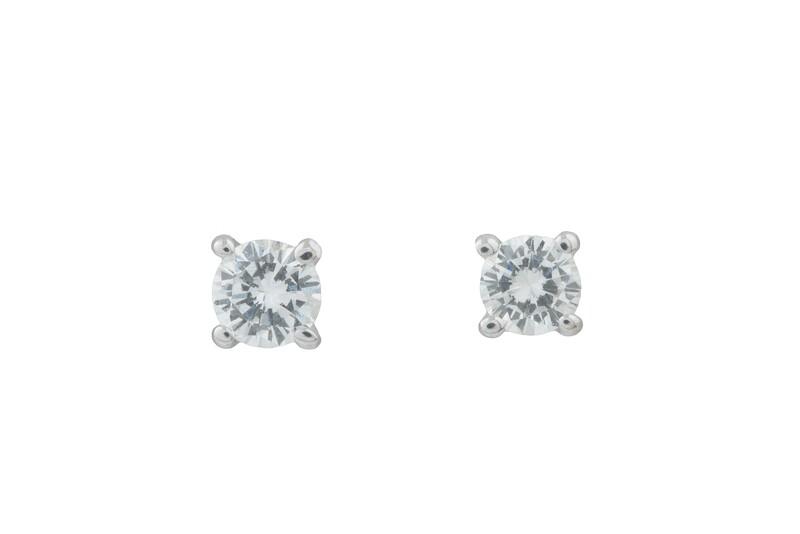 Diamonds Earrings 0,11 ct