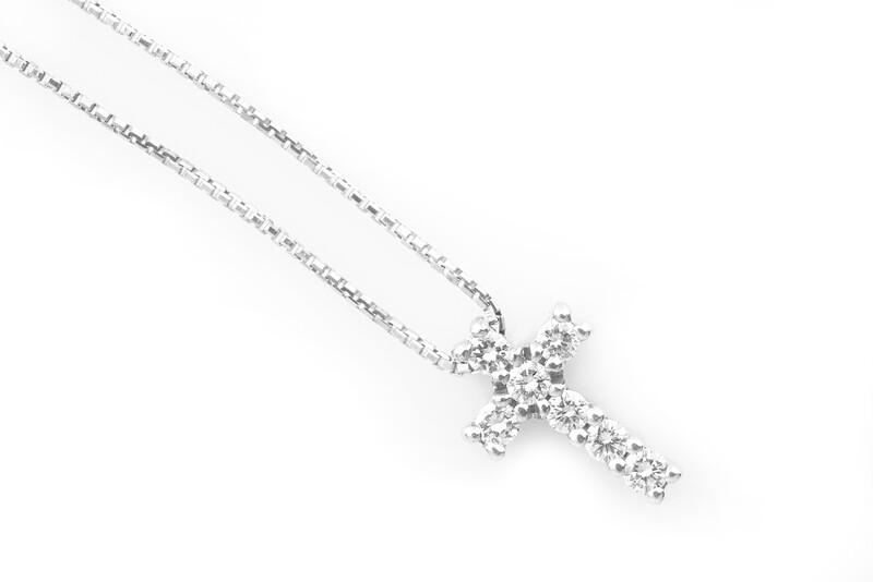 Cross Diamonds Necklace