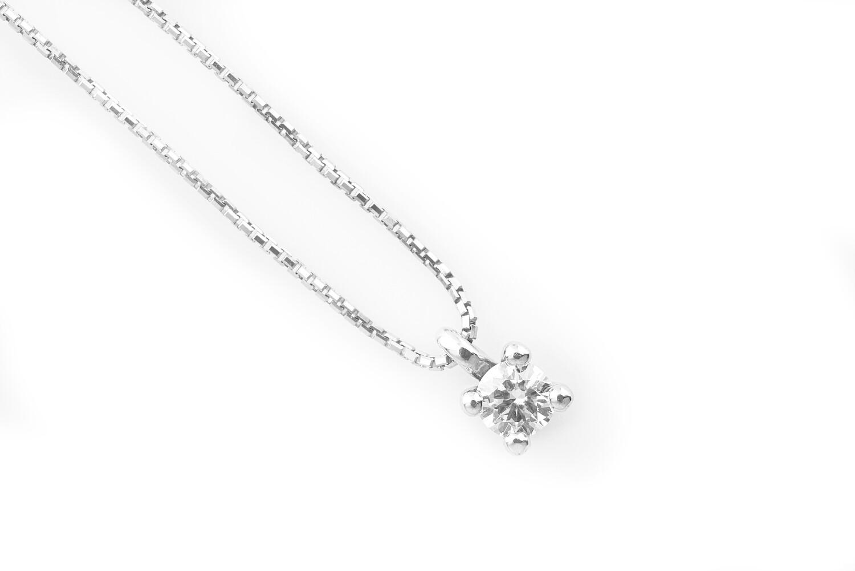 0,13 ct Diamond Necklace