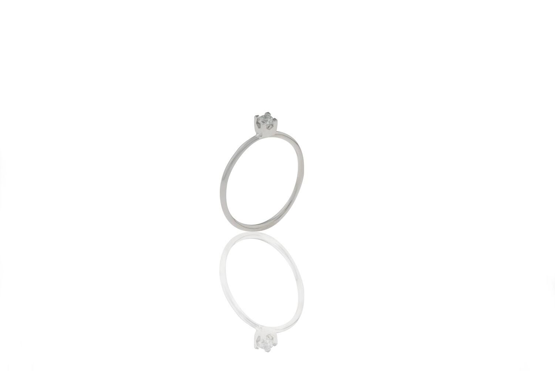 Diamond 0,13 ct Ring