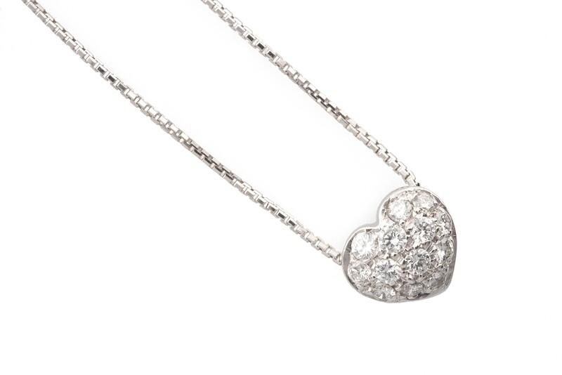 Heart Diamonds Necklace
