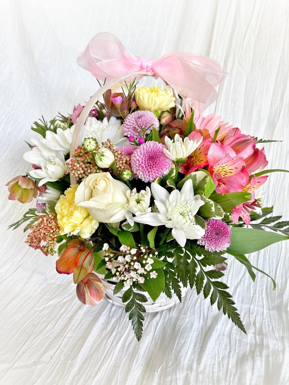 FLOWER BASKET ARRANGEMENT