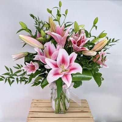 Fragrant Lily Arrangement