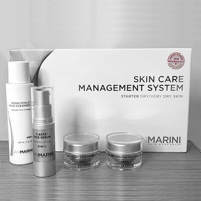 Starter Skin Care Management System Dry/Very Dry Skin