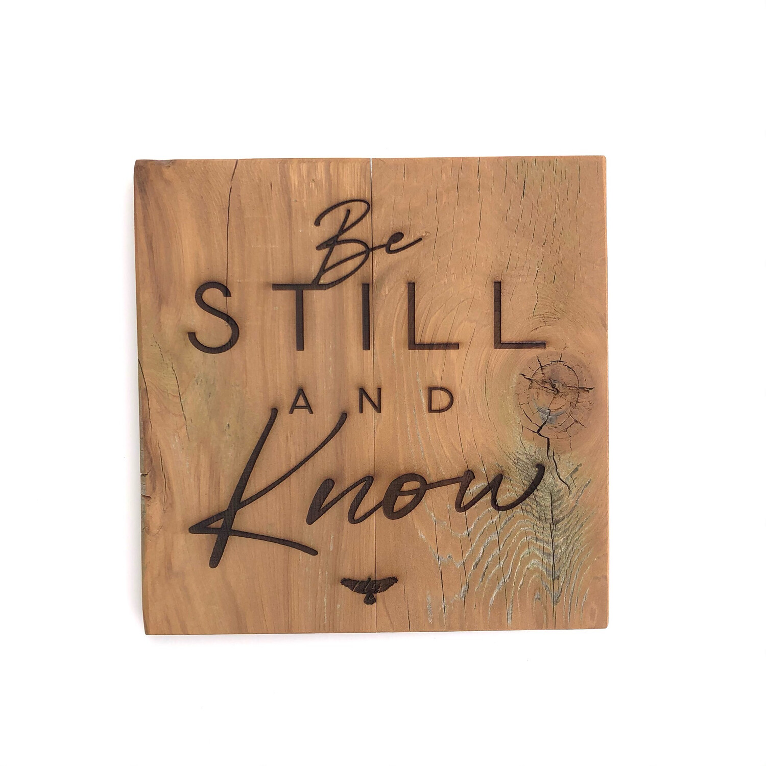 'Be Still And Know' Plaque