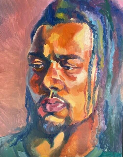 Rasta Original Oil Painting