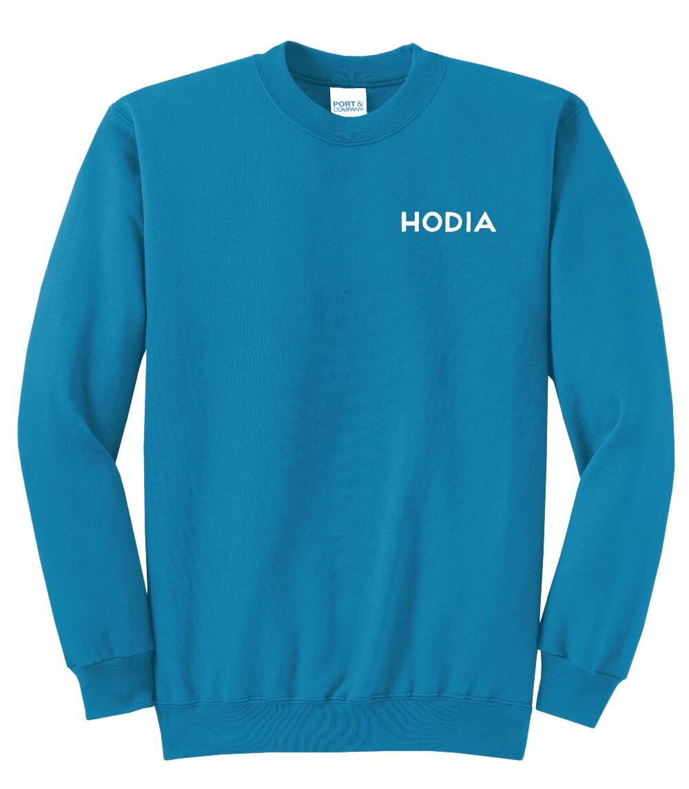 Turquoise Crewneck Sweatshirt