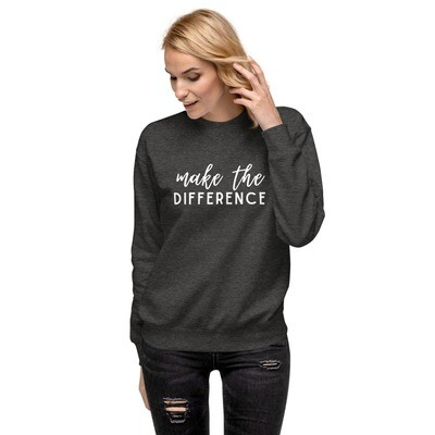 Make the Difference Fleece Pullover
