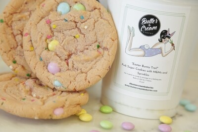 Easter Bunny Trail Cookie Dough