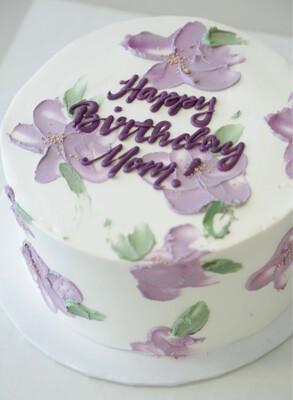 Lavender Velvet Cake