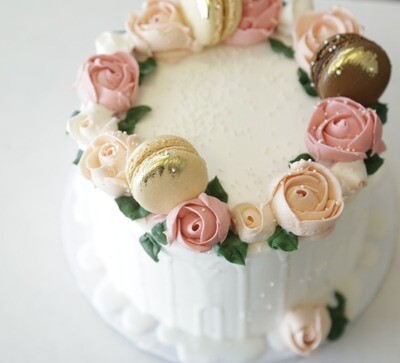 Mothers Day Floral Cake