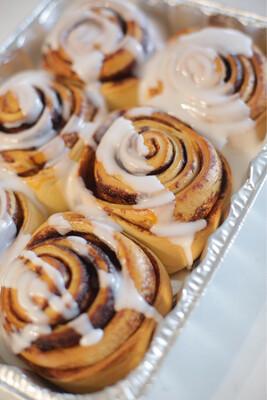 Take + Bake Cinnamon Rolls