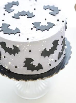 Bewitching Bat Cake