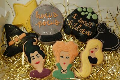 Hocus pocus Cookie Set
