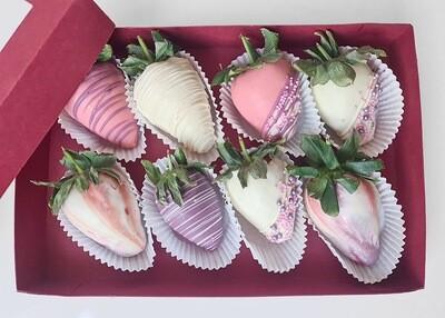 Box of 8 Chocolate Covered Strawberries