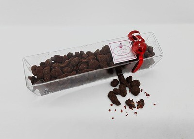 Rustic Red Chillies & Dark Chocolate Dragees