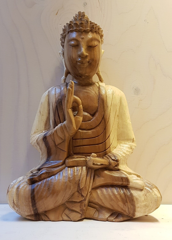 Houten Buddha