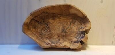 Grote schaal olijfhout