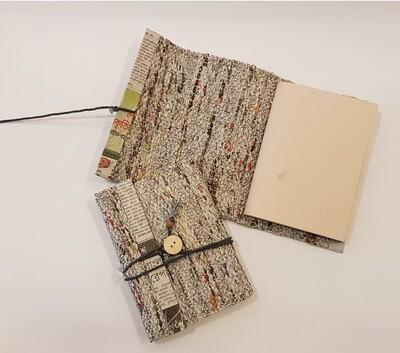 Notitieboekje gerecycled papier