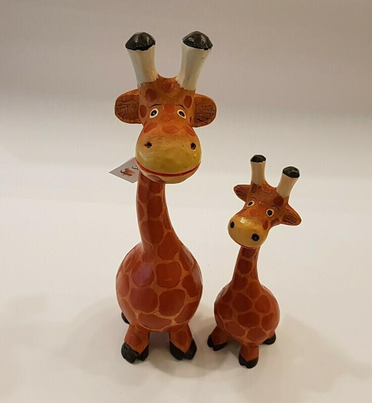 Houten giraf M