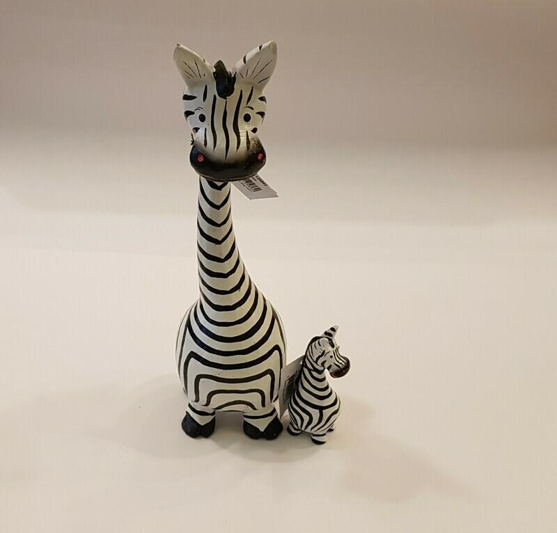 Houten zebra XS