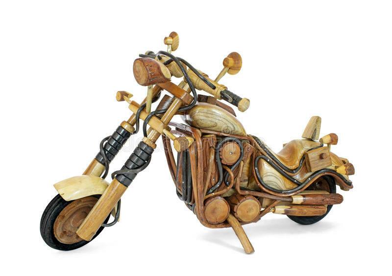 Houten motor